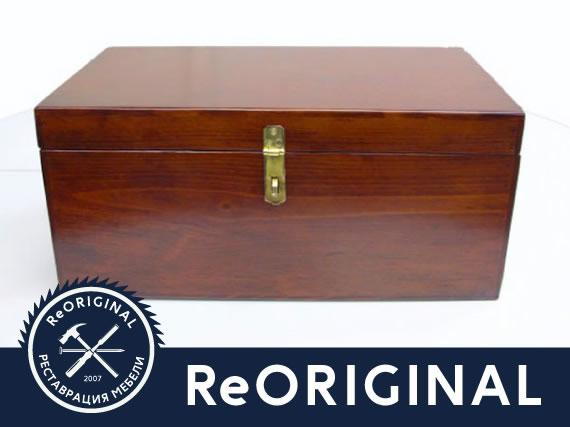 Полная реставрация ящика