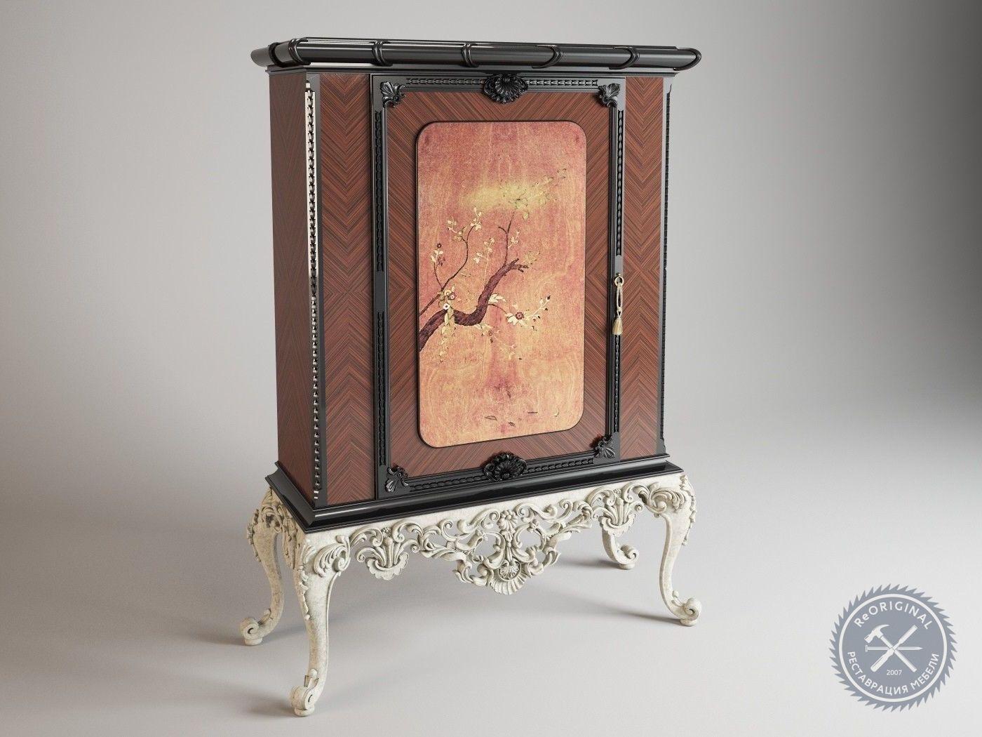 Реставрация шпонированной мебели