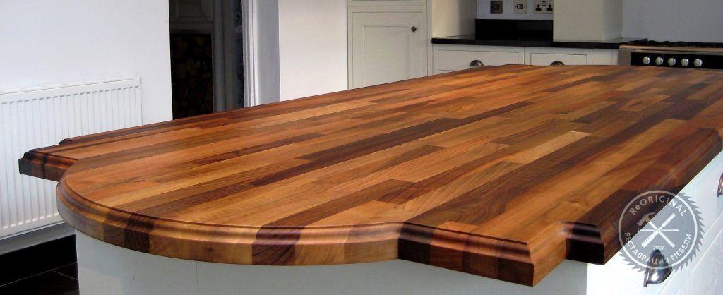 реставрация деревянной столешницы
