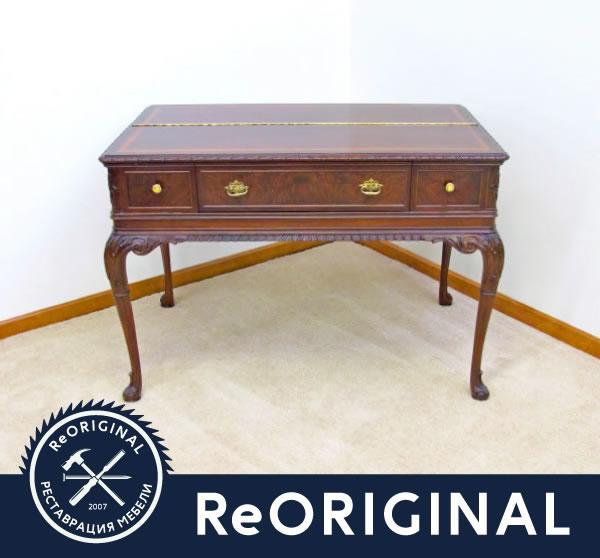Письменный стол после реставрации