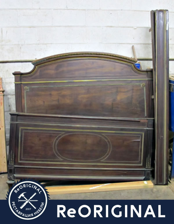 Кровать перед реставрацией