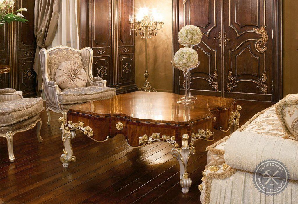 Реставрация итальянской мебели