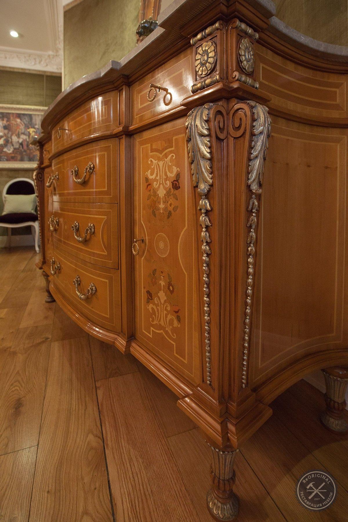 Реставрация мебели на дому мастер