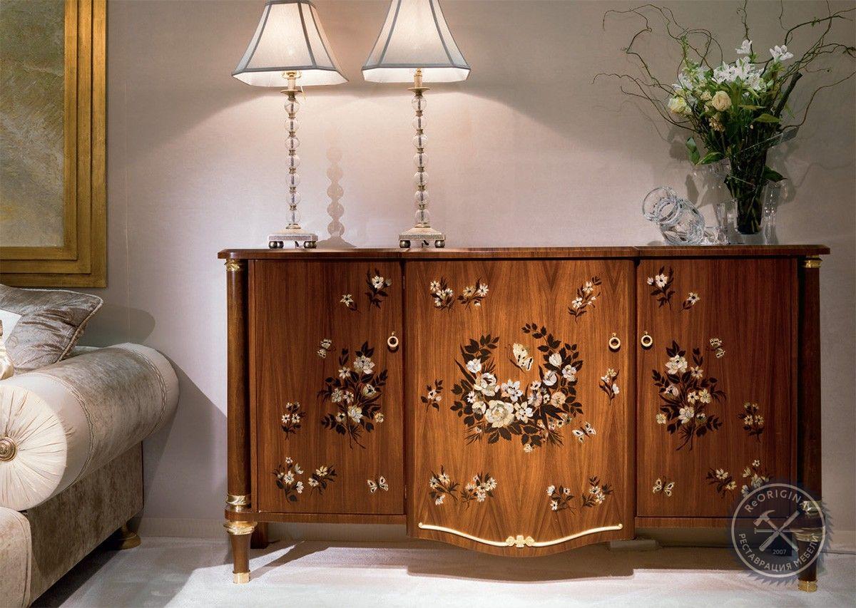 Реставрация деревянной мебели в москве
